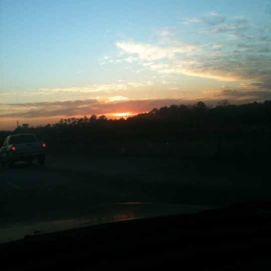Photo taken at General William B. Westmoreland Bridge by Mandie on 1/6/2012