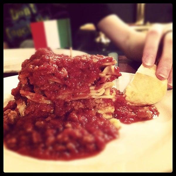 Photo taken at Spaghetti Warehouse by Hillary F. on 2/9/2012