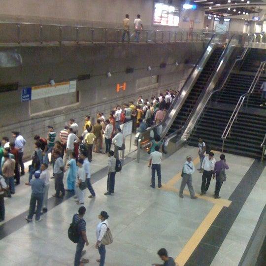 Light Rail Station In New Delhi