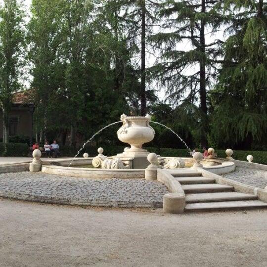 Parque quinta de la fuente del berro park in madrid for Piscina fuente del berro