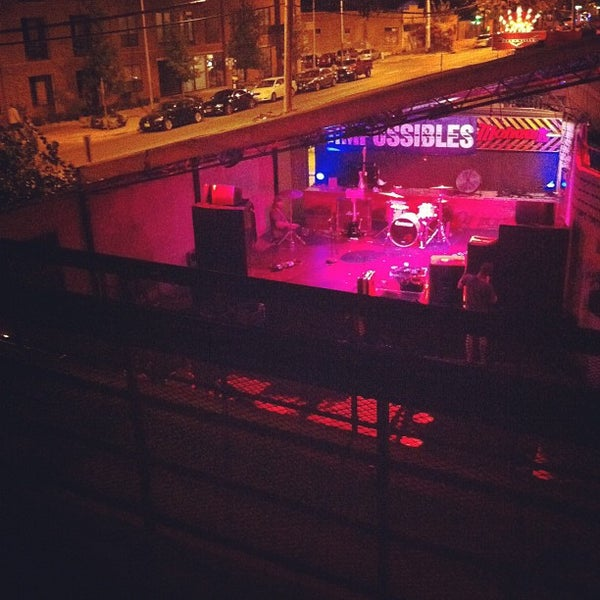 Photo taken at The Mohawk by Alissa B. on 6/10/2012