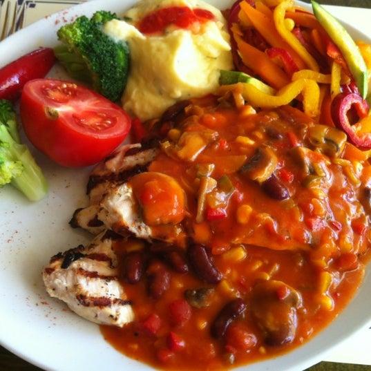 Photo taken at Cafe La Vie by Sener Y. on 8/21/2012