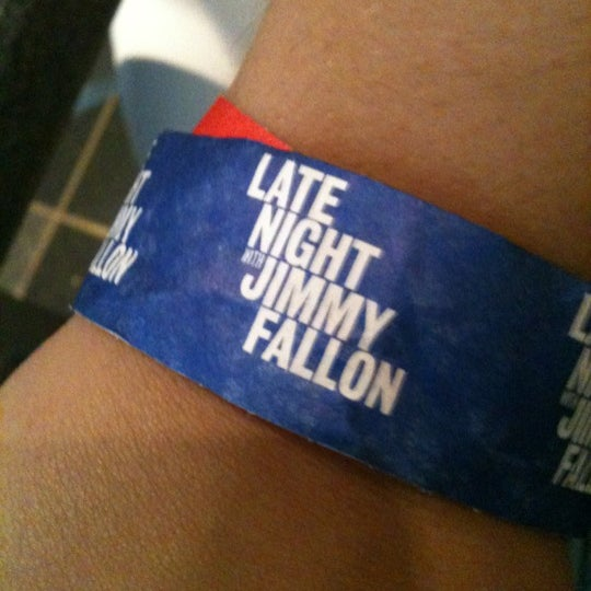 Photo taken at Late Night with Jimmy Fallon by Andrea B. on 9/4/2012