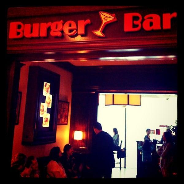 Burger bar downtown san francisco union square 184 for Bar food union square san francisco