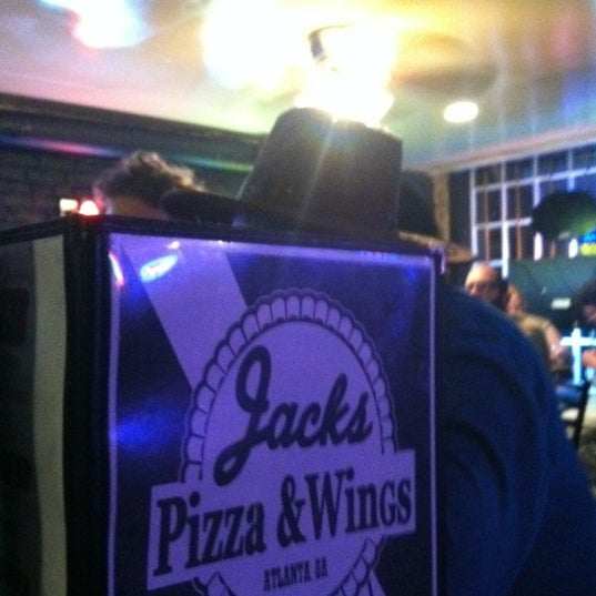Photo taken at Jack's Pizza & Wings by Britton E. on 3/13/2012