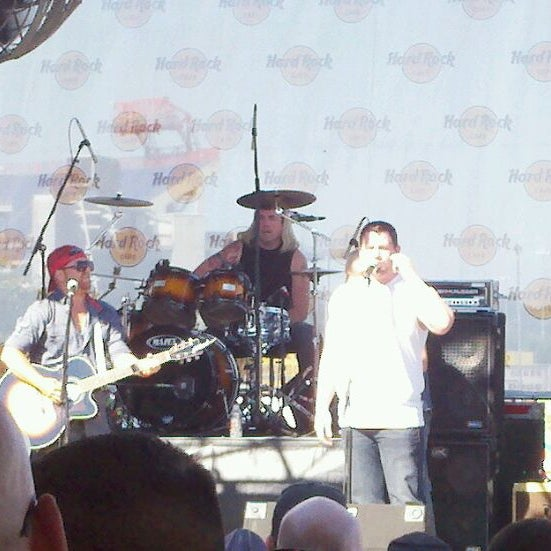 Photo taken at Hard Rock Cafe Nashville by Tyler S. on 6/8/2012