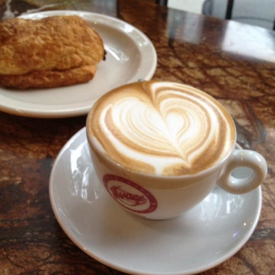 Photo taken at Espresso Vivace by Dan H. on 6/29/2012