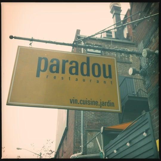 Photo taken at Paradou by Daryl E. on 4/1/2012