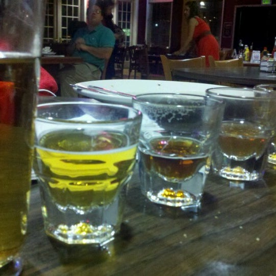 Photo taken at Pocono Brewing Company by Jane W. on 8/19/2012