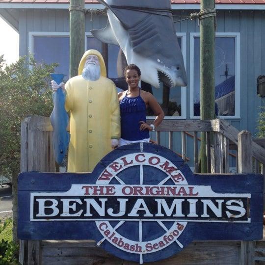 Photo taken at The Original Benjamin's Calabash Seafood by B W. on 7/14/2012
