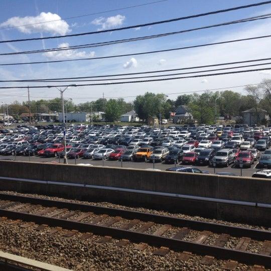 Photo taken at PATCO: Ashland Station by Jeff K. on 4/24/2012