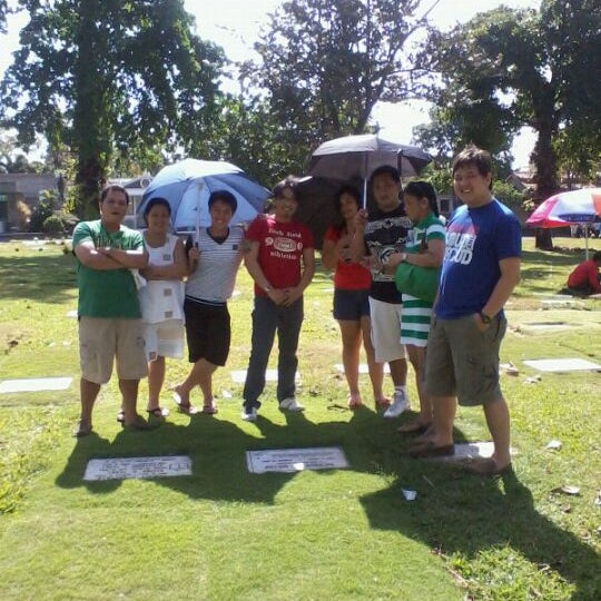 Photo taken at Manila Memorial Park by Anna Mae Q. on 2/5/2012