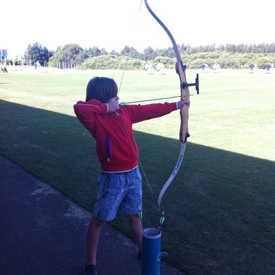 Photo Taken At Sydney Olympic Park Archery Centre By Hoops1971 H On 5 12