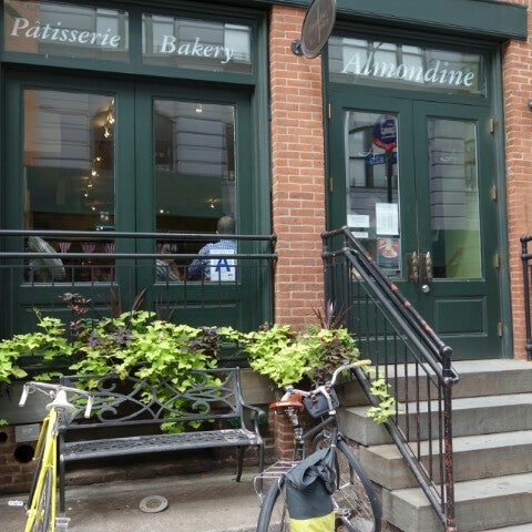 Photo taken at Almondine Bakery by Nathan H. on 8/19/2012