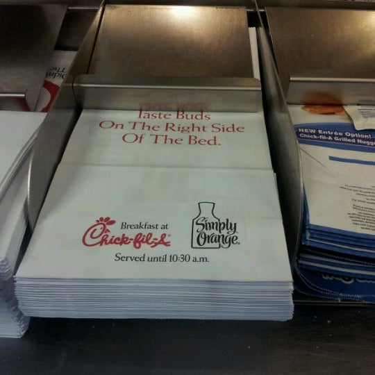 Photo taken at Chick-fil-A by Consuelo A. on 2/23/2012