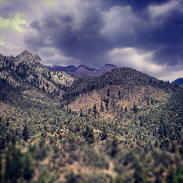 Photo taken at Mt Charleston Lodge by Ray C. on 8/14/2012