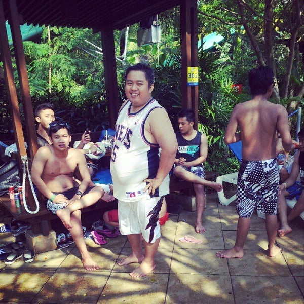 Photo taken at Waterbom Jakarta by sam a. on 7/7/2012