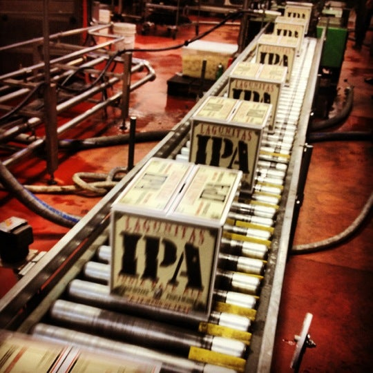 Photo taken at Lagunitas Brewing Company by Wayne I. on 8/31/2012
