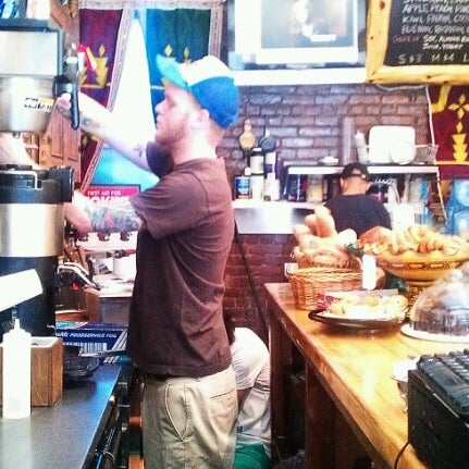 Photo taken at Pause Cafe by Ari S. on 8/30/2012