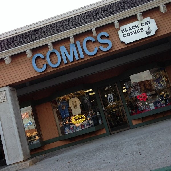 Photos At Black Cat Comics 3 Tips From 188 Visitors