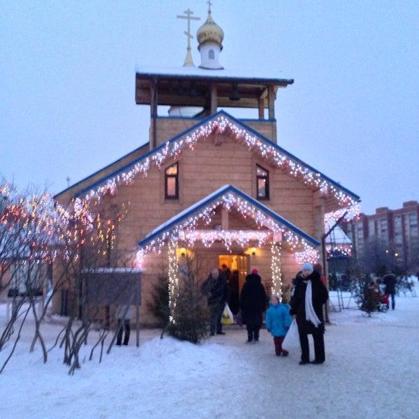 Photo taken at Храм святого Николая Чудотворца by Kata🎀leya on 1/19/2013