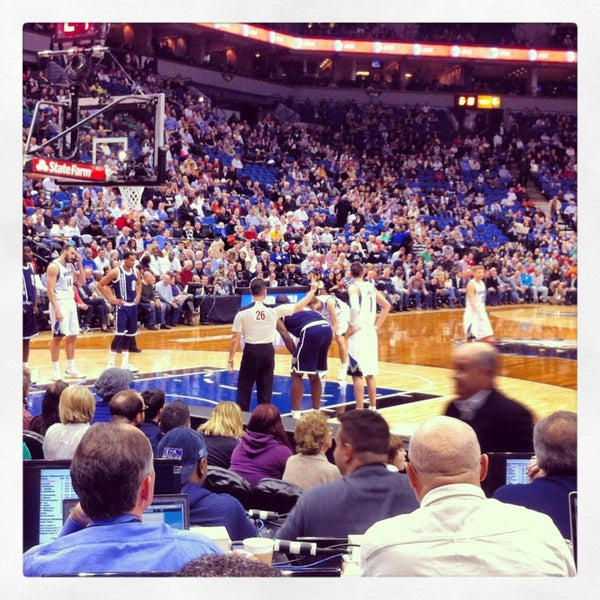 Photo taken at Target Center by Jeff S. on 12/21/2012
