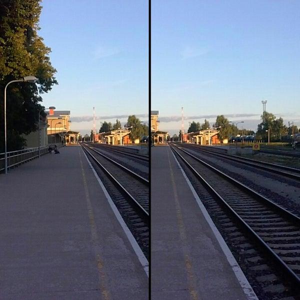 Photo taken at Tartu Raudteejaam by Hannes H. on 8/24/2013