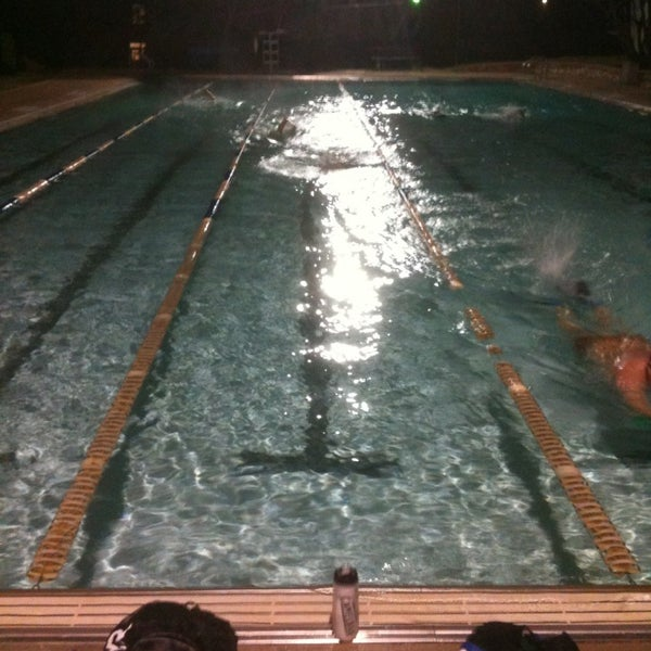 Photo taken at Big Stacy Pool by Daniel H. on 2/5/2013
