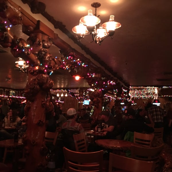 Photo taken at Million Dollar Cowboy Bar by Ceren B. on 11/25/2017