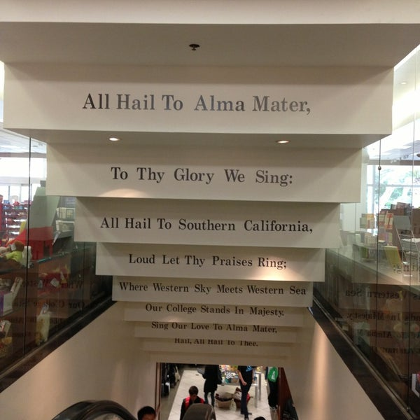 Photo taken at USC Bookstore (BKS) by Jawaher A. on 4/15/2013