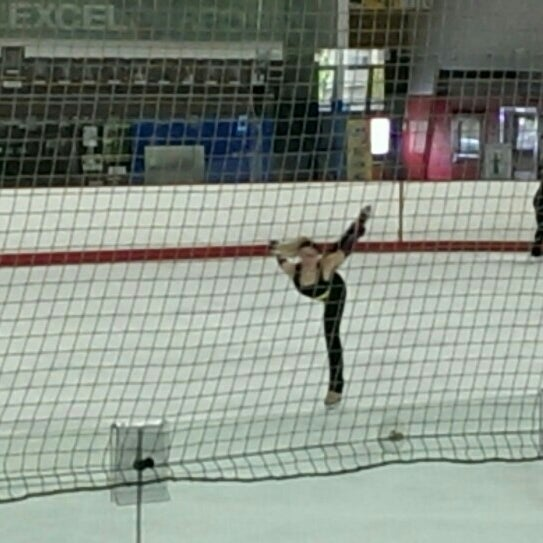Photo taken at San Diego Ice Arena by Lisa K. on 3/4/2016