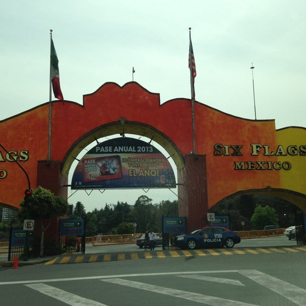 Photo taken at Six Flags México by Jorge T. on 3/10/2013