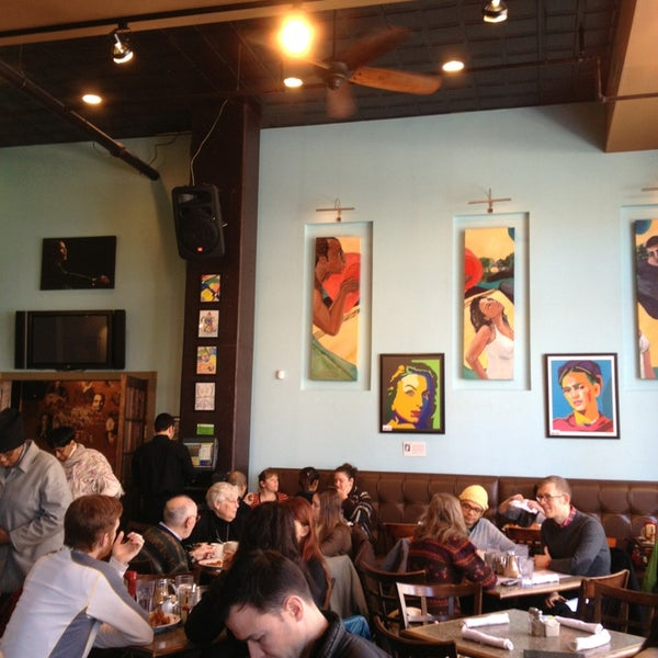 Photo taken at Busboys and Poets by David R. on 1/22/2013