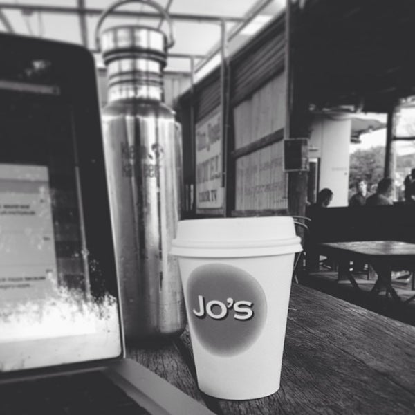 Photo taken at Jo's Coffee by Brent M. on 1/28/2013