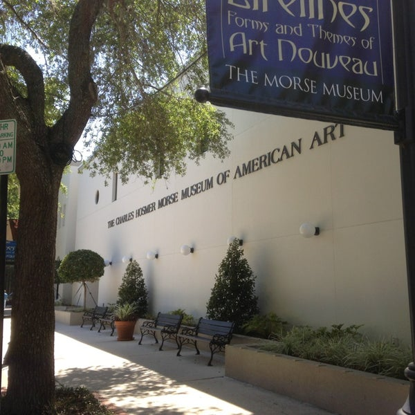 Photo taken at Charles Hosmer Morse Museum Of American Art by Luis Z. on 3/26/2013