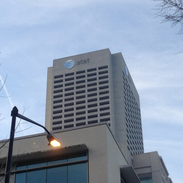 Photo taken at AT&T Tower by Joe F. on 3/8/2013
