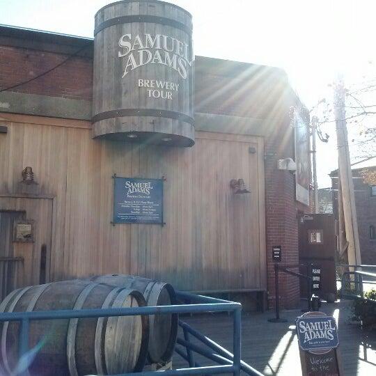 Photo taken at Samuel Adams Brewery by Meghann H. on 11/24/2012