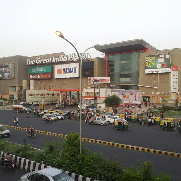 Photo Taken At The Great India Place Mall TGIP By Aman A On