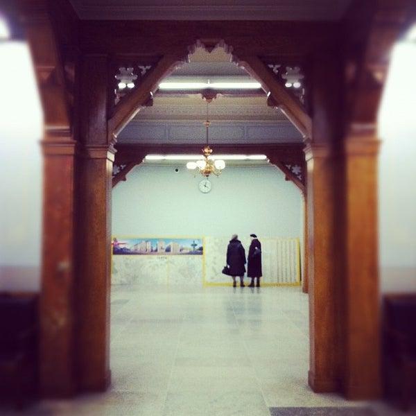 Photo taken at Tartu Raudteejaam by Silver G. on 11/3/2012