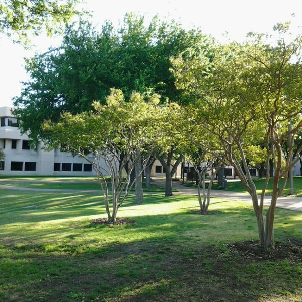 Photo taken at The University of Texas at Dallas (UTD) by Meranda C. on 4/20/2013