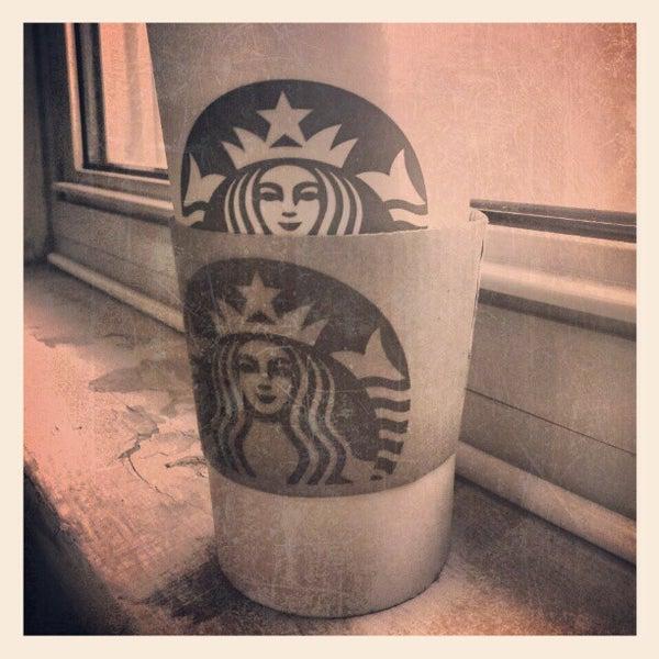 Photo taken at Starbucks by Jordan on 10/21/2012
