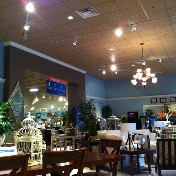 Photo Taken At Ashley Furniture HomeStore By Jason P. On 3/17/2013