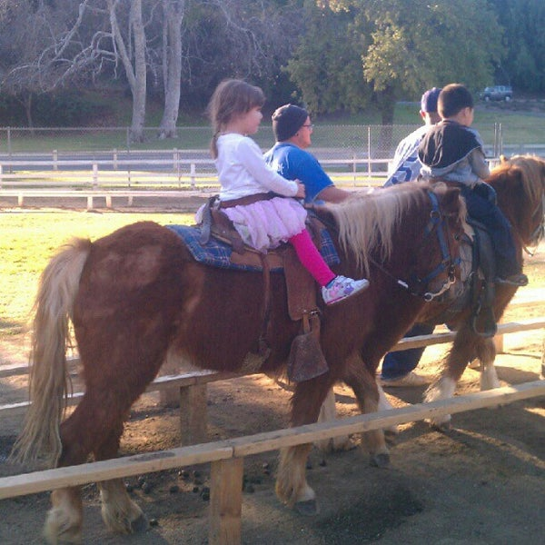 Photo taken at Griffith Park Pony Rides by Mags I. on 1/18/2013