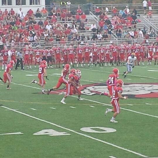 Photo taken at Hinsdale Central High School by Ryan M. on 10/5/2013