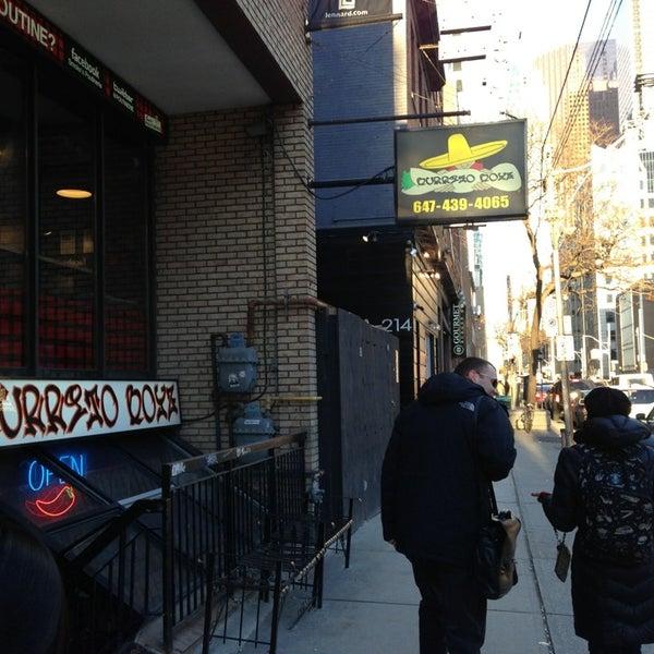 Photo taken at Burrito Boyz by Gary T. on 3/1/2013