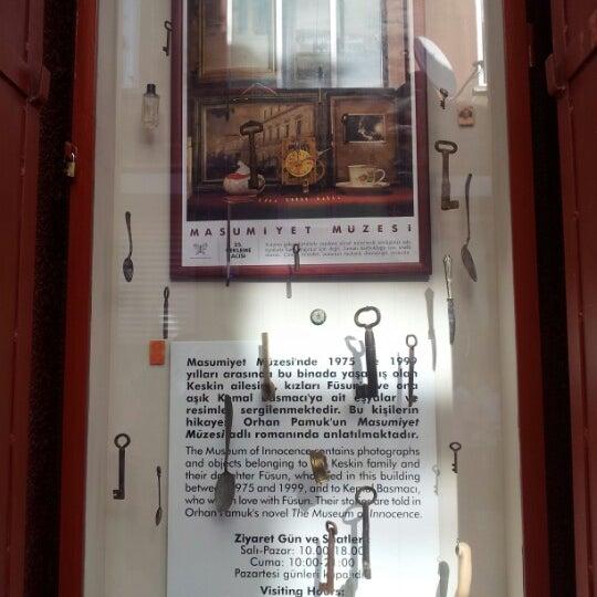 10/16/2012 tarihinde Süreyya Ş.ziyaretçi tarafından Masumiyet Müzesi'de çekilen fotoğraf