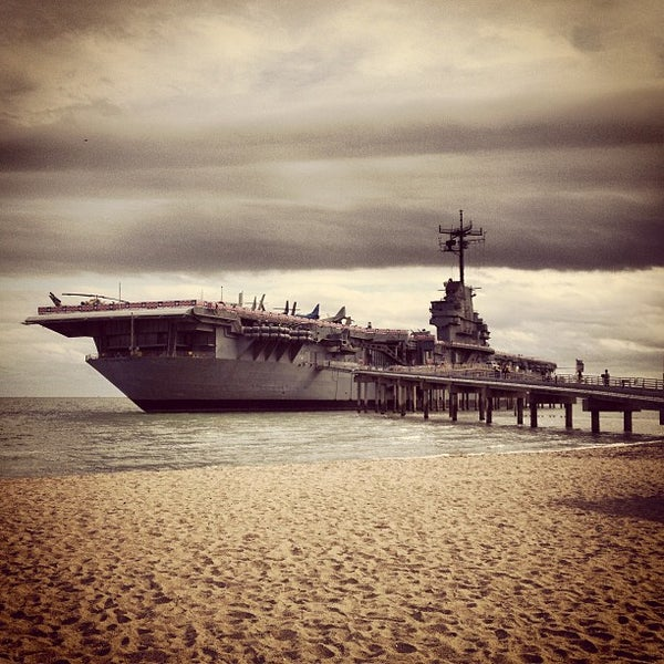 Photo taken at USS Lexington Museum On The Bay by Ricardo A. on 12/30/2012