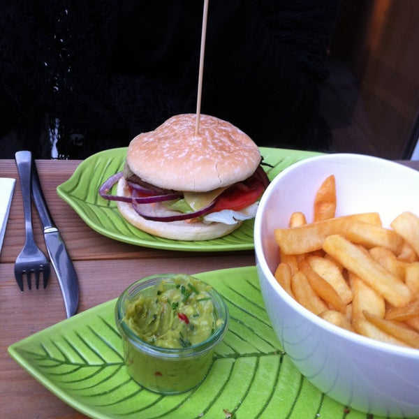 Considered the best hamburguer in Europe