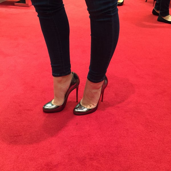Photo taken at Christian Louboutin by Becky D. on 12/26/2014