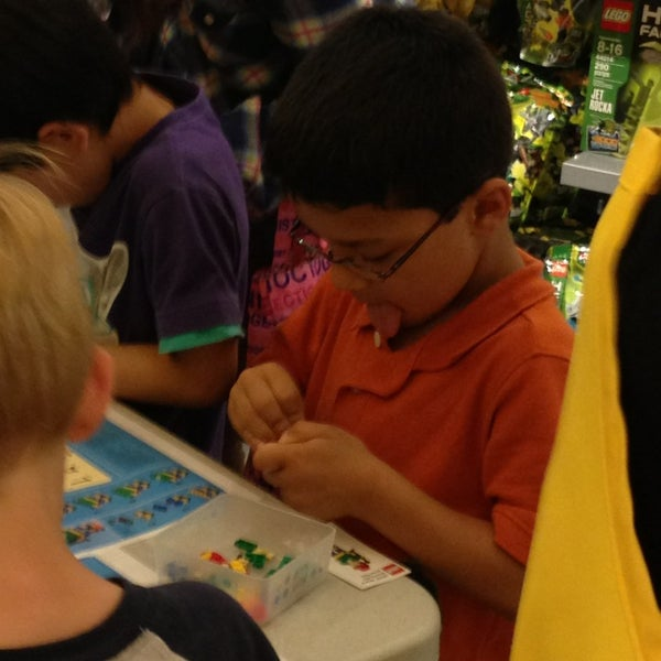 Photo taken at The LEGO Store by Angela D. on 6/4/2013